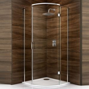 View Cooke & Lewis Cascata Quadrant Shower Enclosure (W)900mm (D)900mm details