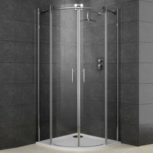 View Cooke & Lewis Eclipse Quadrant Shower Enclosure (W)900mm (D)900mm details