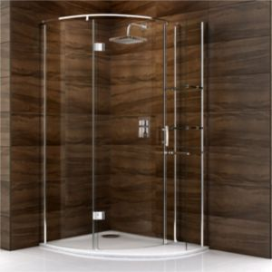 View Cooke & Lewis Cascata Offset Quadrant Shower Enclosure RH (W)1200mm (D)900mm details