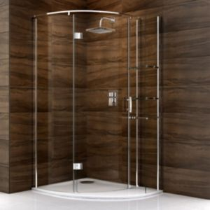 View Cooke & Lewis Cascata Offset Quadrant Shower Enclosure LH (W)1200mm (D)900mm details
