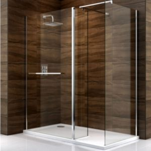 View Cooke & Lewis Cascata Rectangular Shower Enclosure (W)1700mm (D)900mm details