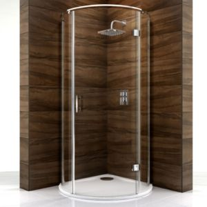 View Cooke & Lewis Cascata Circular Shower Enclosure (W)1000mm (D)1000mm details