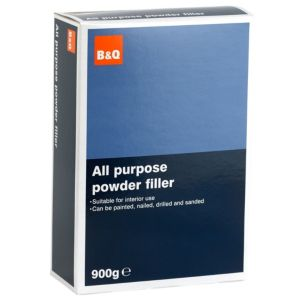 View B&Q White All Purpose Powder Filler 900G details