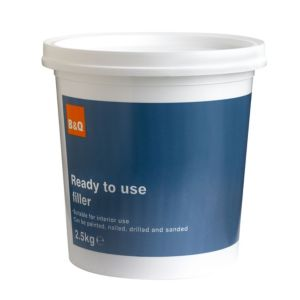 View B&Q White Filler 2.5kg details
