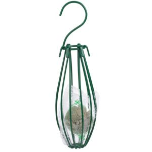 View Gardman Green Steel Bird Feeder (H)200mm details