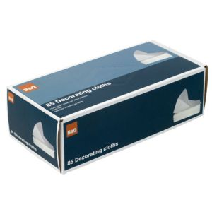B&Q Decorating Cloth Pack of 85