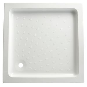 View B&Q Square Shower Tray (W)900mm (D)900mm details