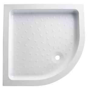 View B&Q Quadrant Shower Tray (W)900mm (D)900mm details