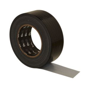 View B&Q Black Cloth Gaffer Tape (L)50m details
