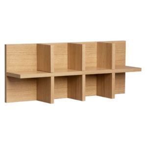 View B&Q California Oak Effect Shelf Insert (D)150mm details