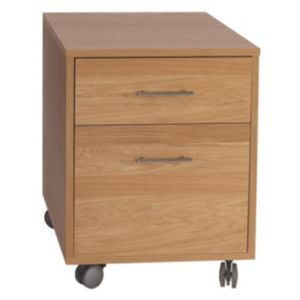 View B&Q California 2 Drawer Pedestal details