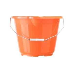 View B&Q Orange Polypropylene 12 L Bucket details