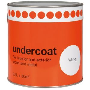 View B&Q Value White Primer & Undercoat 2.5L details