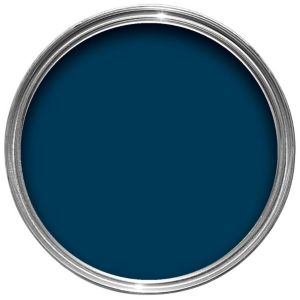 View B&Q One Coat Exterior Midnight Gloss Paint 750ml details