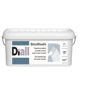 View B&Q Smoothwalls Pure Brilliant White Matt Basecoat 2.5L details