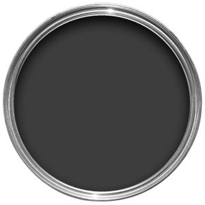 View Colours Jet Black Matt Chalkboard Paint 500ml details
