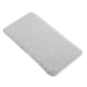 View B&Q White PVC Anti-Slip Bath Mat (L)650mm (W)350mm details