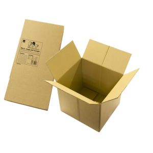 View B&Q Brown Cardboard Storage Box details