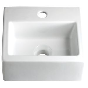 View Cooke & Lewis Square Compact Countertop Basin details