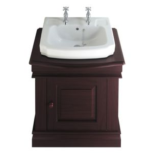 View Cooke & Lewis Octavia Mahogany Effect Vanity Unit & Basin details