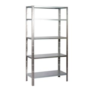 View B&Q 5 Shelf Steel Shelving Unit details