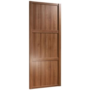 View Traditional Walnut Effect Sliding Wardrobe Door (H)2220 mm (W)762 mm details