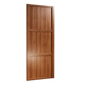 View Traditional Walnut Effect Sliding Wardrobe Door (H)2220 mm (W)914 mm details