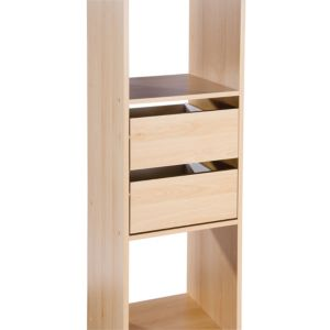 View Space Pro Melamine Faced Chipboard Wardrobe Drawer Pack details