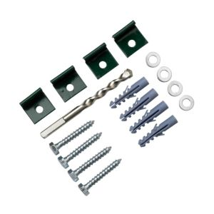 View B&Q Greenhouse Base Anchor Kit Kit Of 1 details