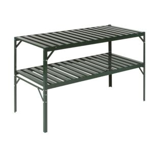 View B&Q Heavy Duty 2 Tier Greenhouse Staging details