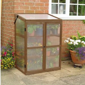 View B&Q Wood Growhouse (W)760mm (D)570mm details
