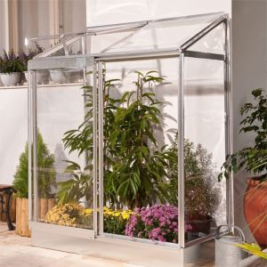View 4X2 PG Lean-To Mini Greenhouse details