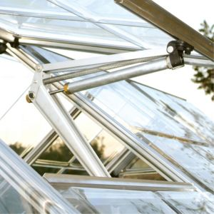 View Polycarbonate Greenhouse Window Auto Vent (H)50mm (D)1.05m details