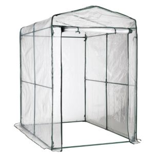 View B&Q Plastic Walk-In Greenhouse details
