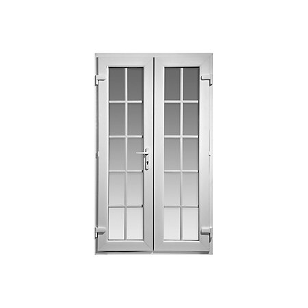 4ft georgian clear glazed pvcu external french door set for French doors 1190