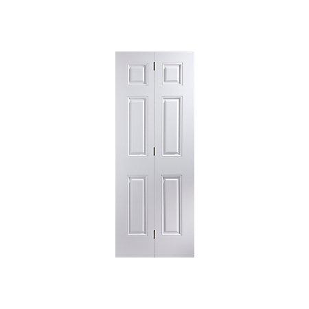 Panel Primed Smooth Glazed Internal Bi Fold Door H W