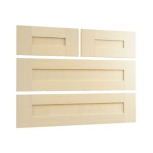 View Cooke & Lewis Maple Style Shaker 2 over 2 Drawer Chest Front Pack details