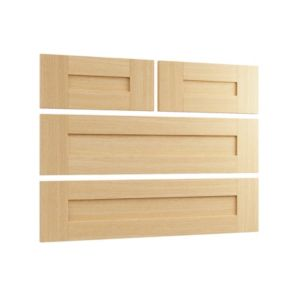 View Cooke & Lewis Ferrara Oak Style Shaker 2 over 2 Drawer Chest Front Pack details