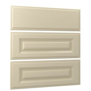 View Cooke & Lewis Traditional Cream 3 Drawer Mid Bedside Front Pack details
