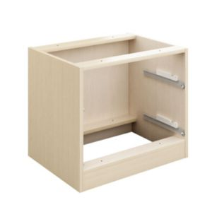 View Cooke & Lewis Maple Effect 2 Drawer Bedside Cabinet Carcass details