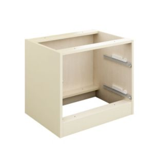 View Cooke & Lewis Cream 2 Drawer Bedside Cabinet Carcass details