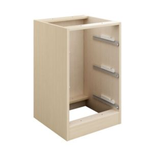 View Cooke & Lewis Cooke & Lewis Maple Effect Cabinet Frame Including Drawer Boxes Frontals Sold Separately (H) 747 mm (W) 460 mm details