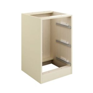 View Cooke & Lewis Cream 3 Drawer Bedside Cabinet details