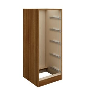 View Cooke & Lewis Walnut Effect 5 Drawer Tallboy Cabinet (H)1.141m (W)460mm details