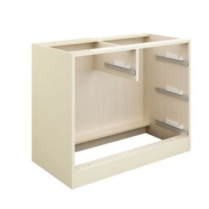 View Cooke & Lewis Cream 2 over 2 Drawer Cabinet Carcass details