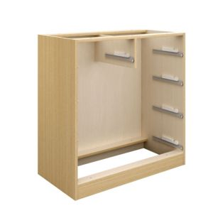 View Cooke & Lewis Oak Effect 2 over 3 Drawer Cabinet details