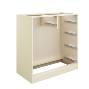 View Cooke & Lewis Cream 2 over 3 Drawer Cabinet (H)942mm (W)910mm details
