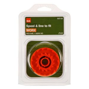 View B&Q Orange Plastic Replacement Spool & Line (L)5m details