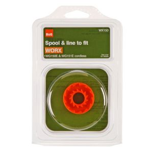 View B&Q Orange Plastic Replacement Spool & Line (L)2.5m details