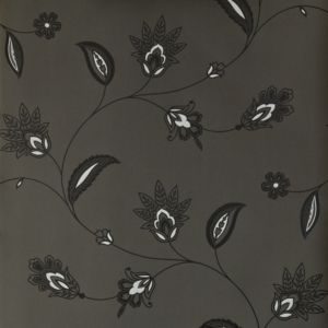 View Colours Paste The Wallcovering Paisley Black Wallpaper details